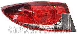 Фонарь задний правый внешний +LED SDN для Mazda 6 (GJ) 2013-16