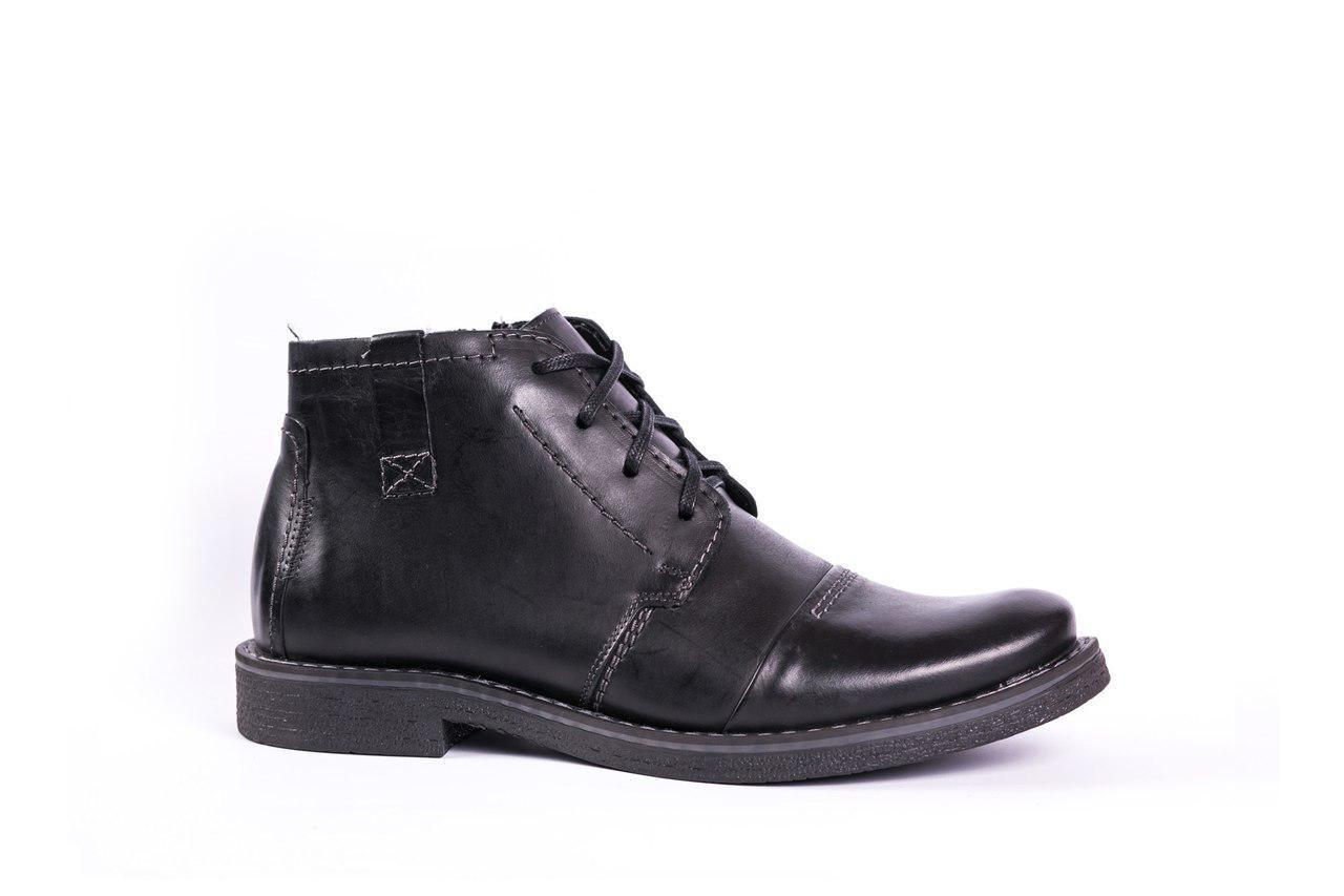 Зимові черевики чорні Fado