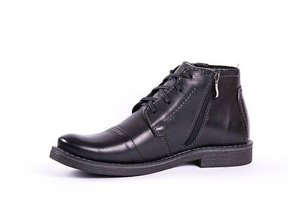 Зимові черевики чорні Fado, фото 2