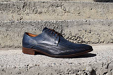 Туфлі літні Minardi сині, фото 3