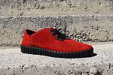 Мокасини Prime Shoes червоні, фото 3