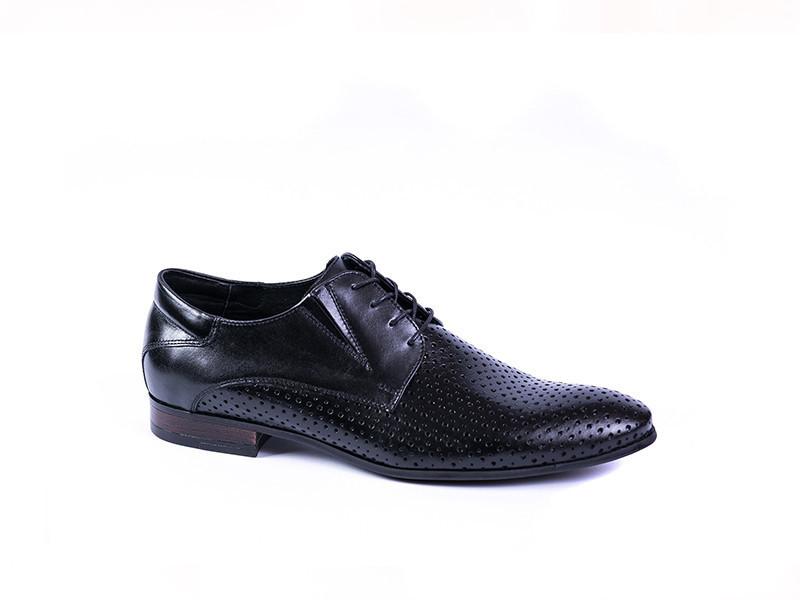 Туфлі Pan з перфорацією, чорні