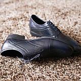 Туфлі броги сині ІКОС, фото 2