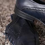 Туфлі броги сині ІКОС, фото 6