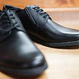 Шкіряні чорні туфлі Minardi, фото 5