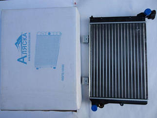 Радиатор охлаждения ВАЗ 2106 (алюминиевый) (M-LA001) Аляска