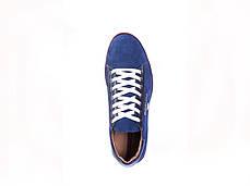 Кросівки Carlo Pachini нубук, сині, фото 2