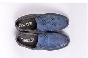 Туфлі Polbut сині, фото 3