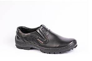 Туфлі чорні Polbut, фото 3