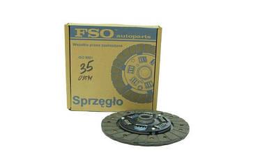 Диск сцепления ведомый ВАЗ 2106,2121 широкий (Premium) FSO