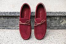Мокасини бордовий Rifellini, фото 3
