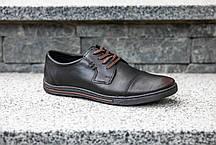 Туфлі темно-коричневі Polbut, фото 3