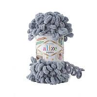 Alize Puffy №428 серый