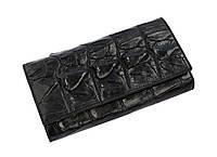 Кошелек из кожи крокодила  Ekzotic Leather черный (cw 18_1), фото 1