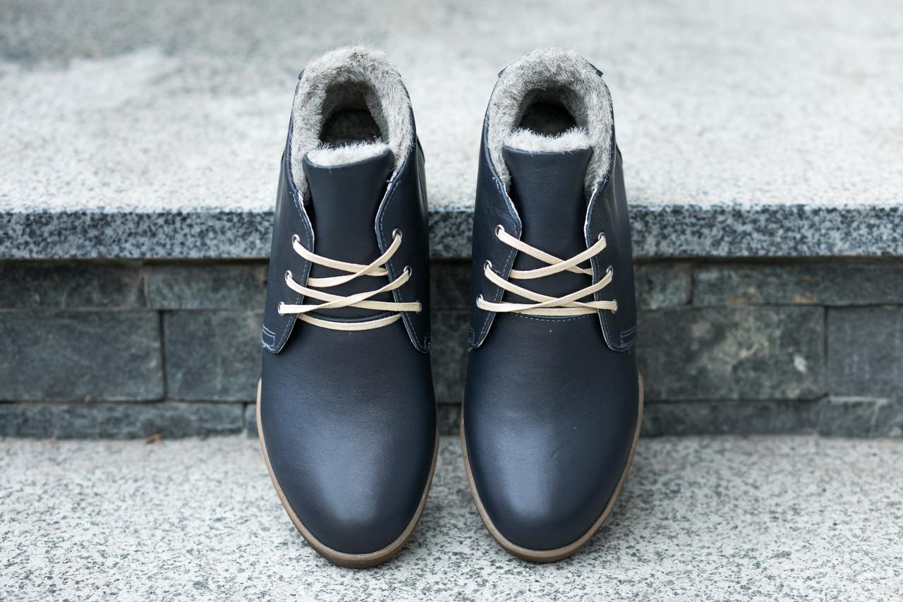 Шкіряні зимові черевики, не дозволять вам мерзнути взимку!
