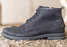 Чоловічі черевики з міцних матеріалів, фото 2
