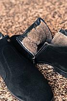Черевики чоловічі чорні Ікос, фото 3