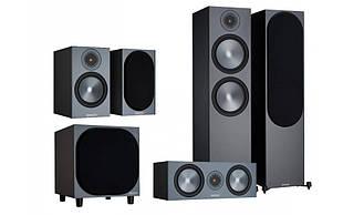 Комплект акустики Monitor Audio Bronze (6G) set 5.1 500/50/С150/W10