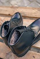 Черевики Ікос чорні броги, фото 2