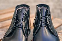 Черевики Ікос чорні броги, фото 3