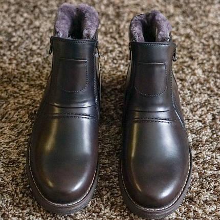 Ботинки Krisbut коричневый - 45 розмір, фото 2