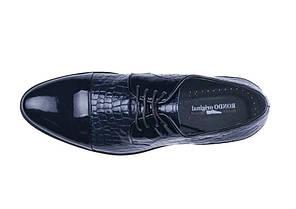 Туфлі лаковані, сині., фото 2