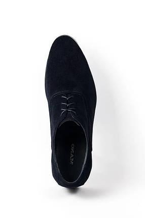 Сині Замшеві туфлі., фото 2