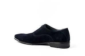 Сині Замшеві туфлі., фото 3