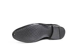 Замшеві чорні туфлі., фото 3