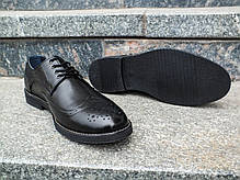 Туфлі броги з оригінальним дизайном., фото 3