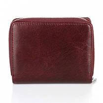 Компактный кошелек VERMARI 55077-1603 WINE Бордовый, фото 3