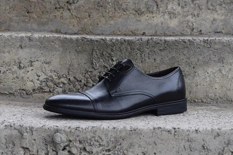 Туфлі чорні дербі