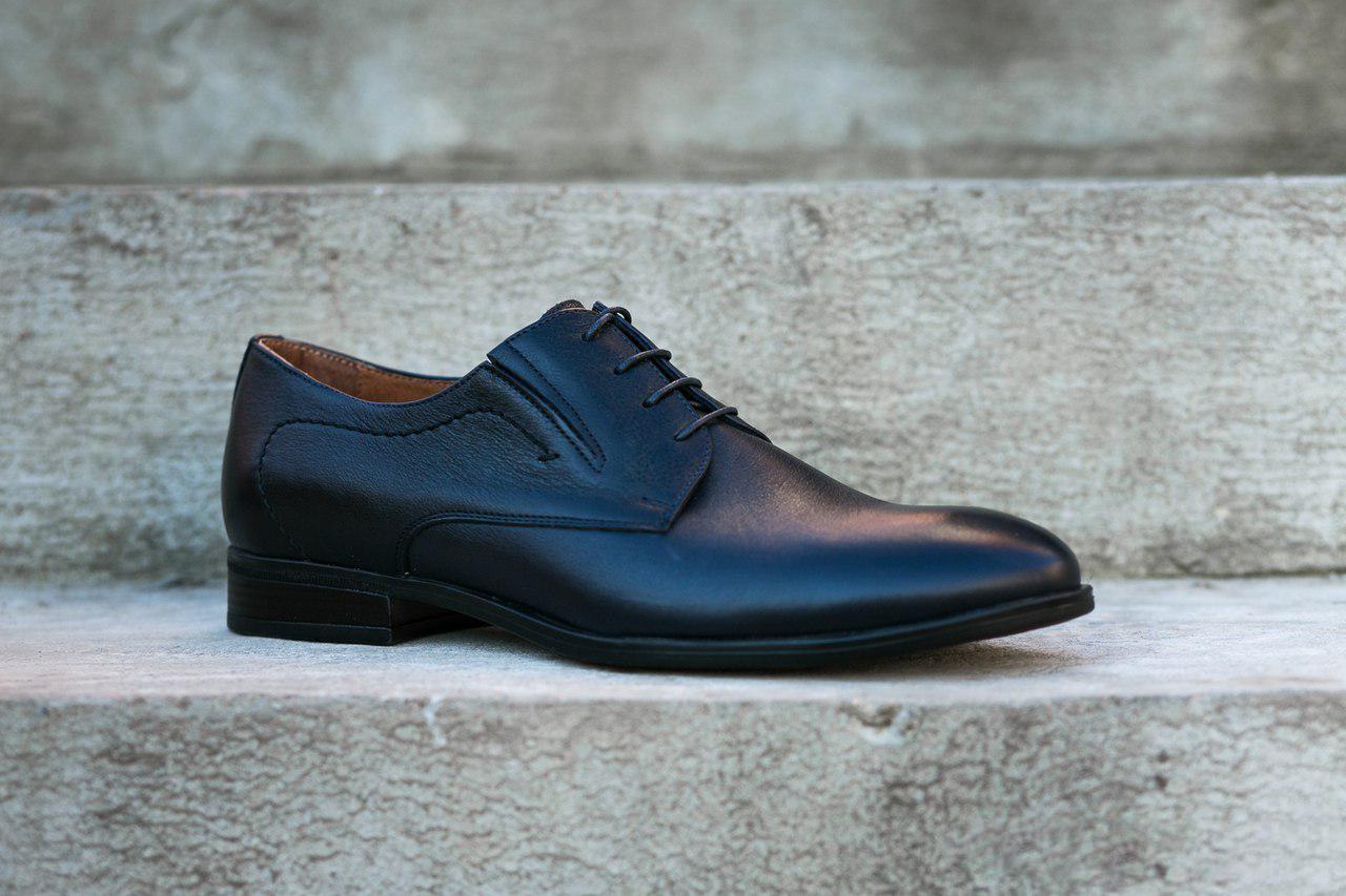 Туфлі дербі, чорні