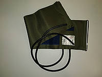 Манжет тканинний 2-х трубковий з кільцем для механічних тонометрів, обхват 25-36 см, фото 1