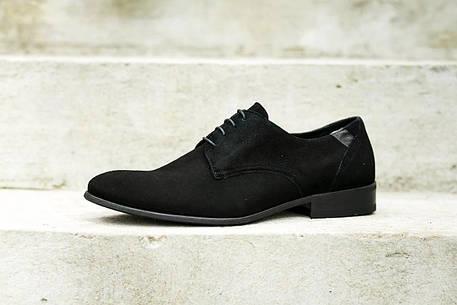 Замшеві туфлі,чорні., фото 2
