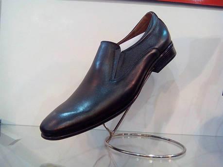 Чорні шкіряні туфлі., фото 2