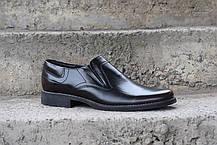 Чоловічі чорні туфлі, фото 2