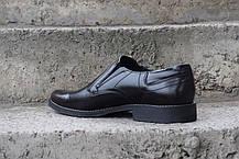 Чоловічі чорні туфлі, фото 3