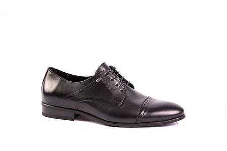 Туфлі дербі чорні., фото 2