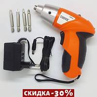 Электрическая отвертка-шуруповерт TUOYE