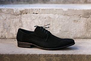 Замшеві чоловічі туфлі., фото 2