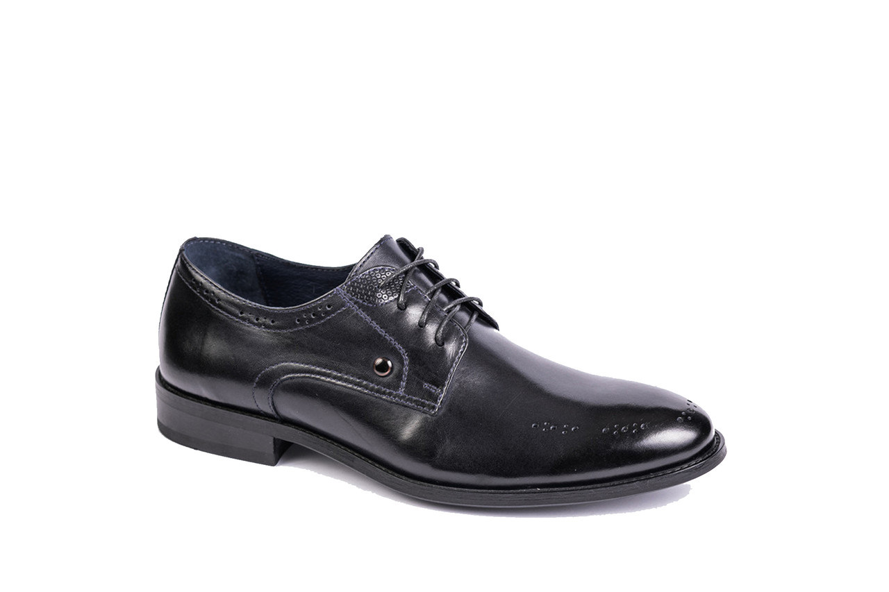 Чоловічі туфлі, сині