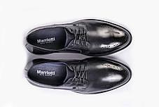 Чоловічі туфлі, сині, фото 2