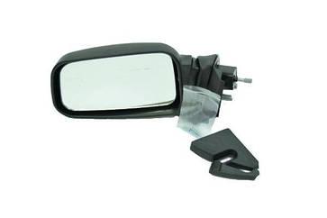 Зеркало ВАЗ 2114 наружное заднего вида левое (метал. кронштейн) SAN-D