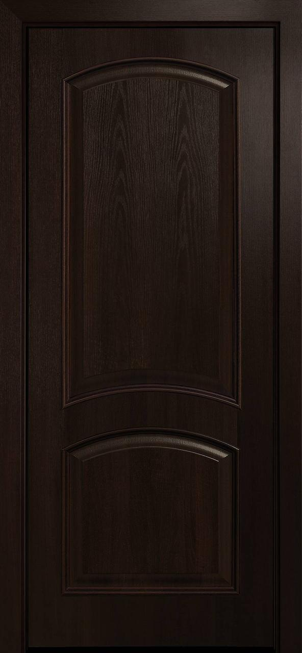 """Дверь межкомнатная """"Новый Стиль"""" модель Антре, каштан (глухое)"""