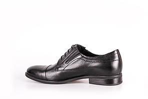 Туфлі чорні дербі, фото 3