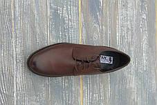Польскі коричневі туфлі, фото 3