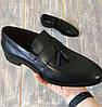 Туфлі лофери, чорні., фото 2