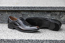 Туфлі коричнево-чорні, фото 2