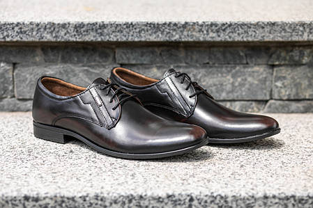 Елегантні ШКІРЯНІ чоловічі туфлі. Від Польського виробника., фото 2